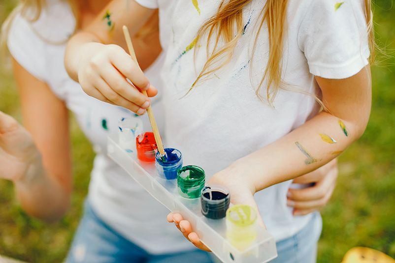 Photo activité peinture