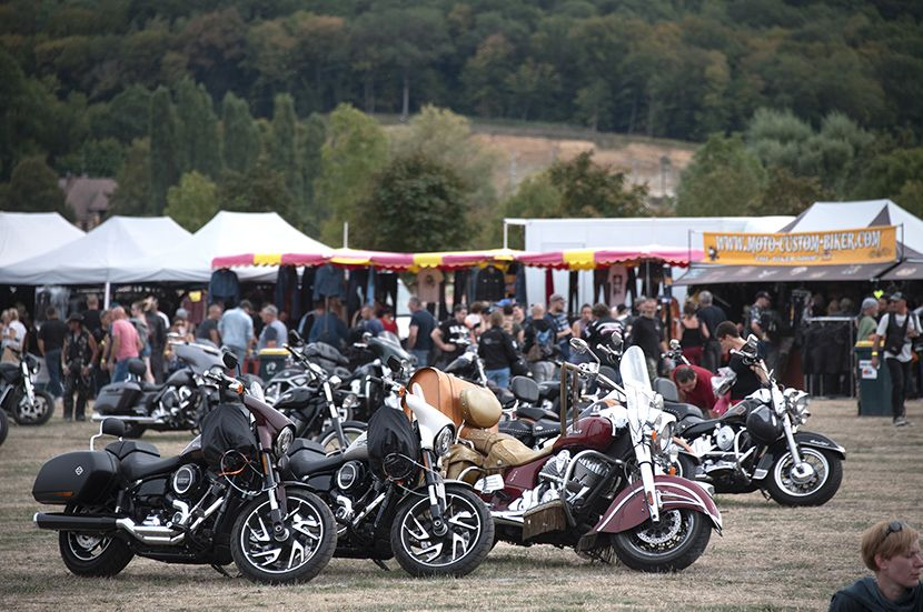 Festival Harley et customs à Evreux