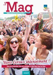 Le MAG – Magazine de la Ville d'Evreux – N°59 Juin 2016