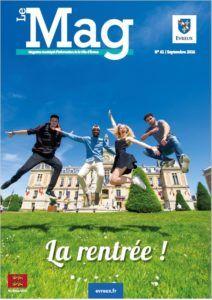Le MAG – Magazine de la Ville d'Evreux – N°61 Sept 2016