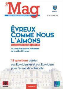 Le MAG – Magazine de la Ville d'Evreux – N°62 Oct 2016