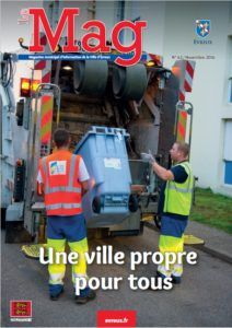 Le MAG – Magazine de la Ville d'Evreux – N°63 Nov 2016