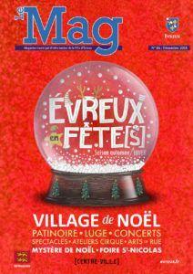 Le MAG – Magazine de la Ville d'Evreux – N°86 Décembre 2018