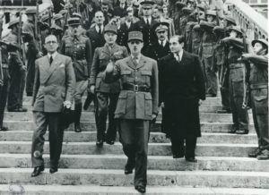 Visite du Général de Gaulle à Évreux en 1944