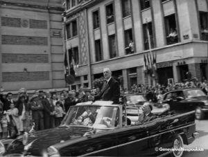 Visite du général de Gaulle en 1960
