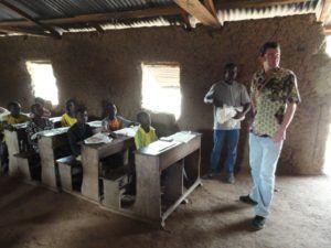 Ecole où est prévue une nouvelle construction d'un module scolaire