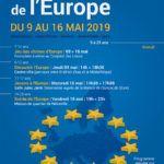 Affiche semaine de l'Europe