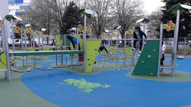 Aire de jeux Square Kennedy