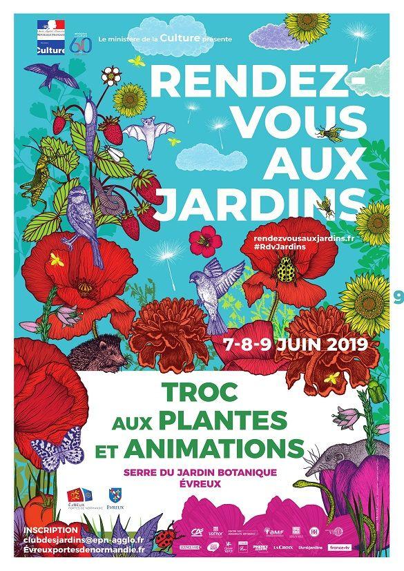 Affiche Troc aux plantes 2019