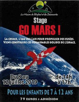 Affiche stage mars