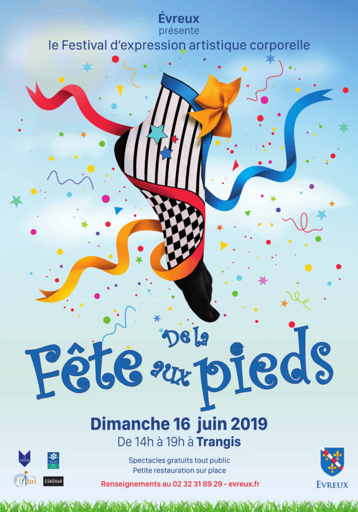 Affiche de la fête aux pieds 2019