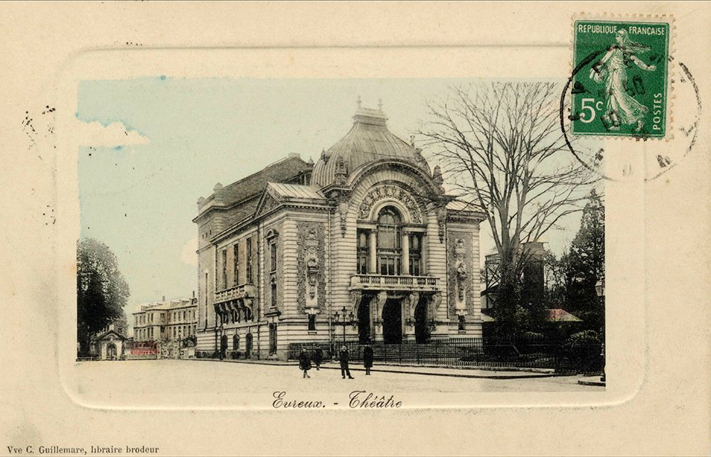Théatre en 1913
