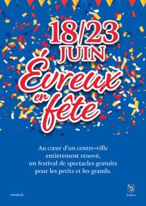 Évreux en Fête 18/23 juin 2019