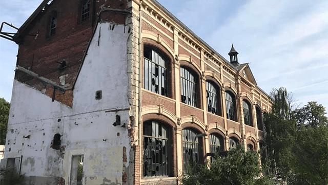 Anciennes usines de Navarre- Les opérations de sécurisation du site ont commencé