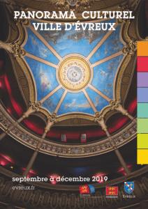Panorama culturel de la Ville d'Évreux – Septembre 2019