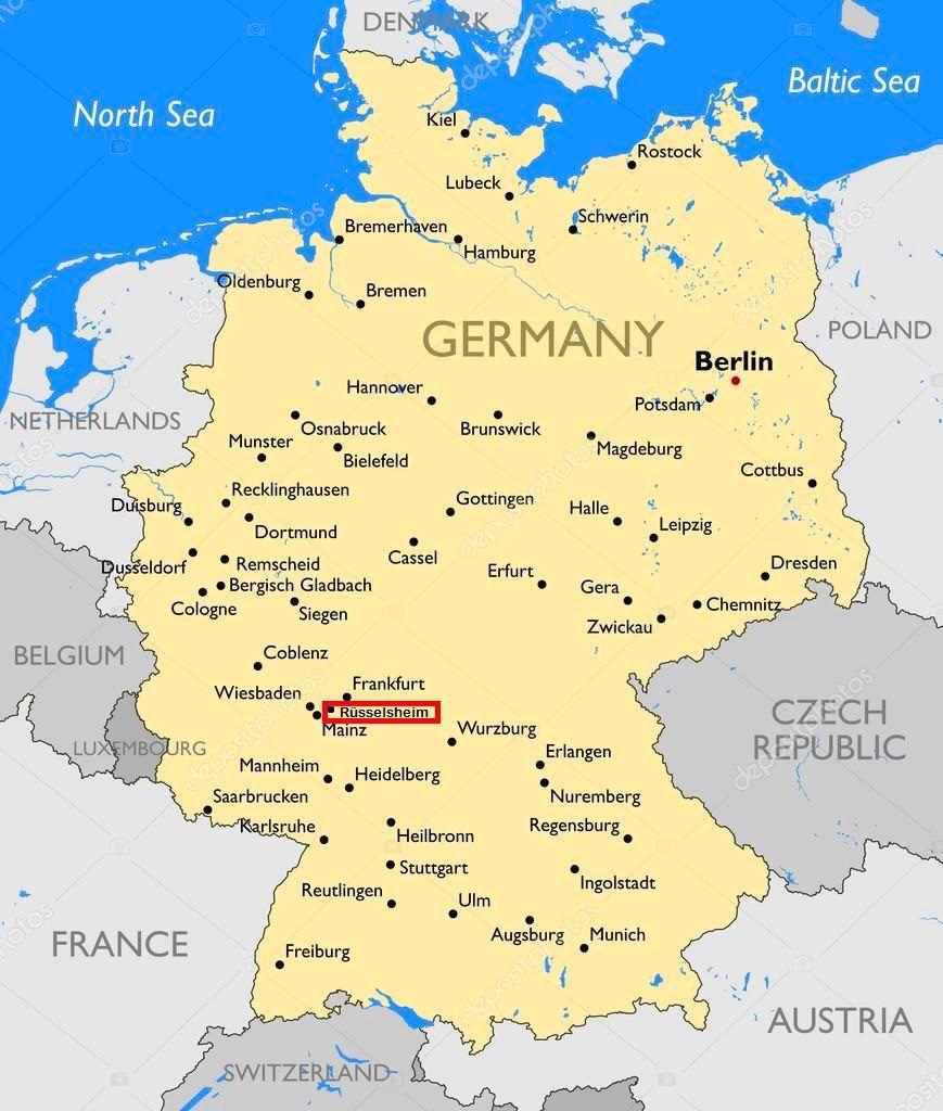 Carte allemande
