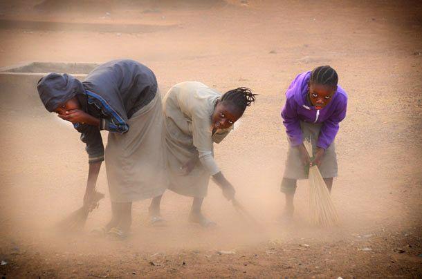Filles à Djougou