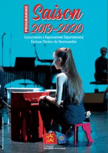 Programmation du Conservatoire à Rayonnement Départemental saison 2019-2020