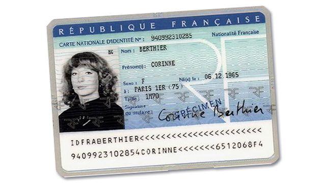 numéro national carte d identité française Carte nationale d'identité   CNI   Evreux