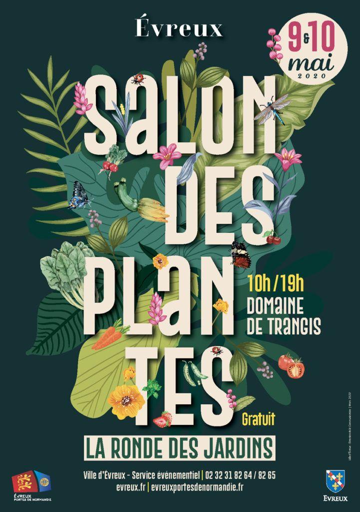 Affiche salon des plantes 2020