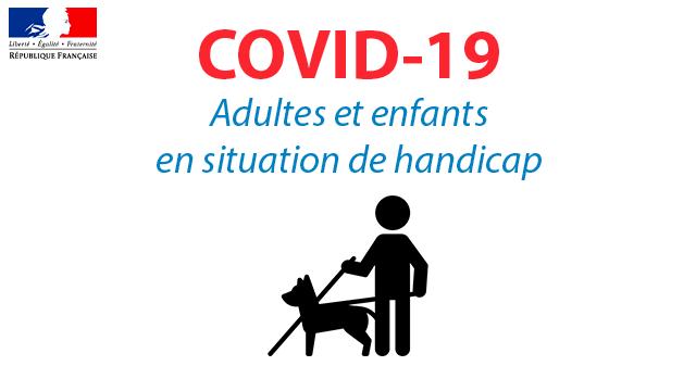 COVID-19 : Adultes et enfants en situation de handicap