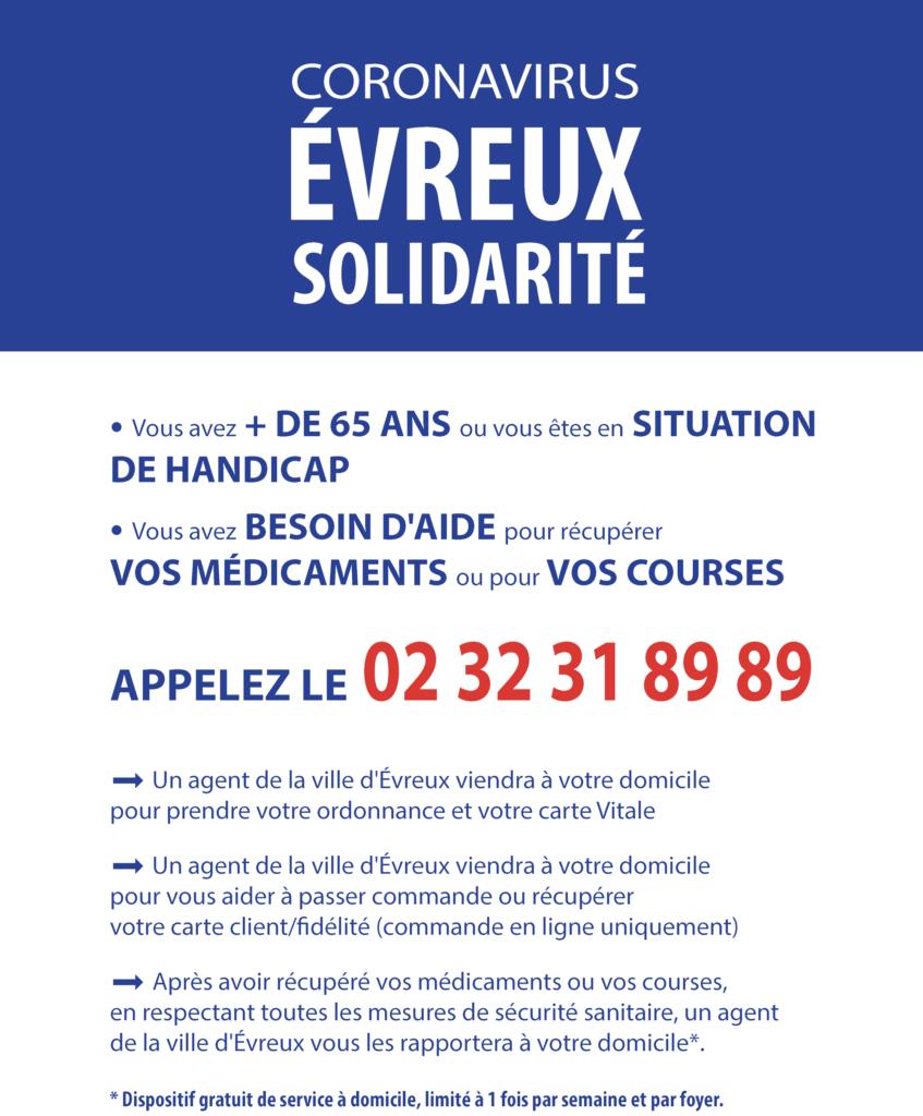 Affiche Evreux Solidarité