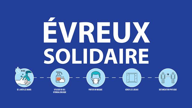 Évreux Solidaire : 3 dispositifs
