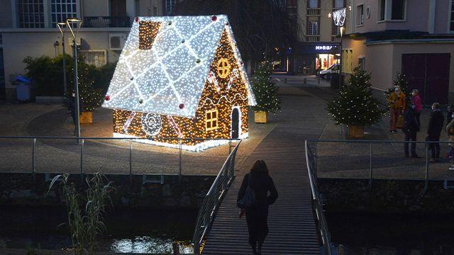 Encore plus d'illuminations de Noël