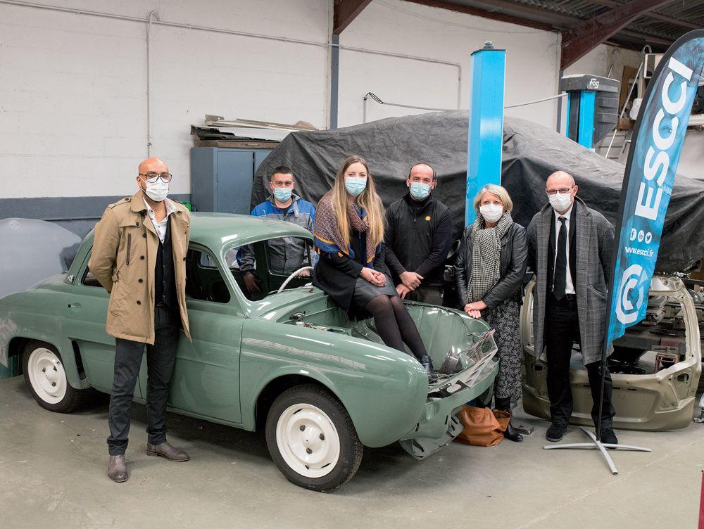 ASCCI jeunes en alternance. Garage automobile