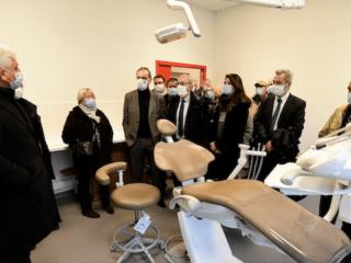 inauguration service d'enseignement d'otonlogie