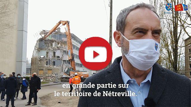 Rénovation urbaine à Nétreville