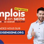 Affiche Salon Emplois en Seine