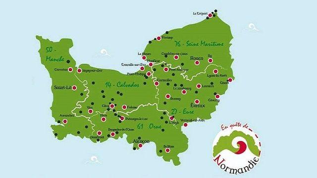 Jeu en quête de Normandie
