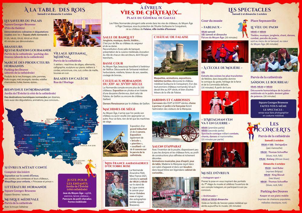 Programme des Fêtes Normandes 2021